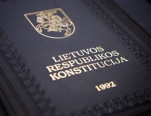 Paskelbti Konstitucijos egzamino 2015 m. nugalėtojai, tarp jų – trečią kartą nugalėtoju tapęs JURISTAI24.LT teisininkas